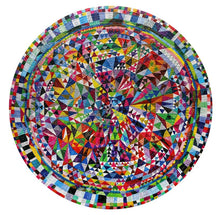 Triangle Pattern Round Puzzle (500 Pieces)
