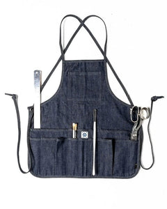 Mid-Length Apron, by Ubi-Ind Denim