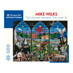 Mike Wilks - The Ultimate Alphabet Puzzle: Letter W (500 Pieces)
