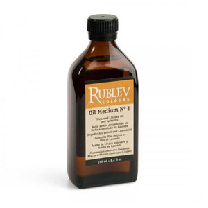 Rublev Colours Oil Medium No. 1 (Linseed and Spike Oil)