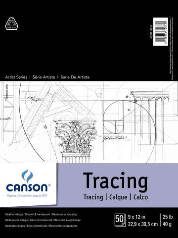 Canson Artist Series Tracing Pads