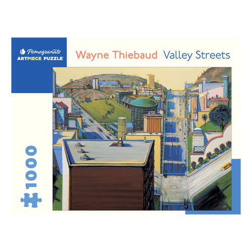 Wayne Thiebaud Puzzle (1,000 Pieces)