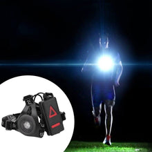 Load image into Gallery viewer, LED Running Lights with Flashlight Warning & USB Charging Cable