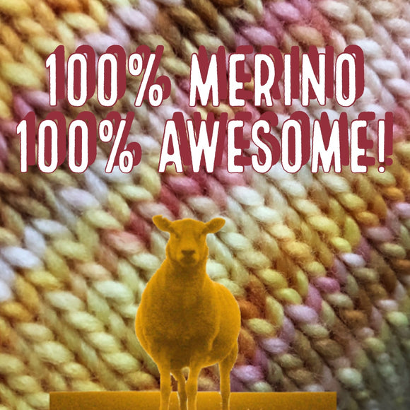 100% Superwash Merino