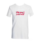 "T-shirt ""Please! yourself"""