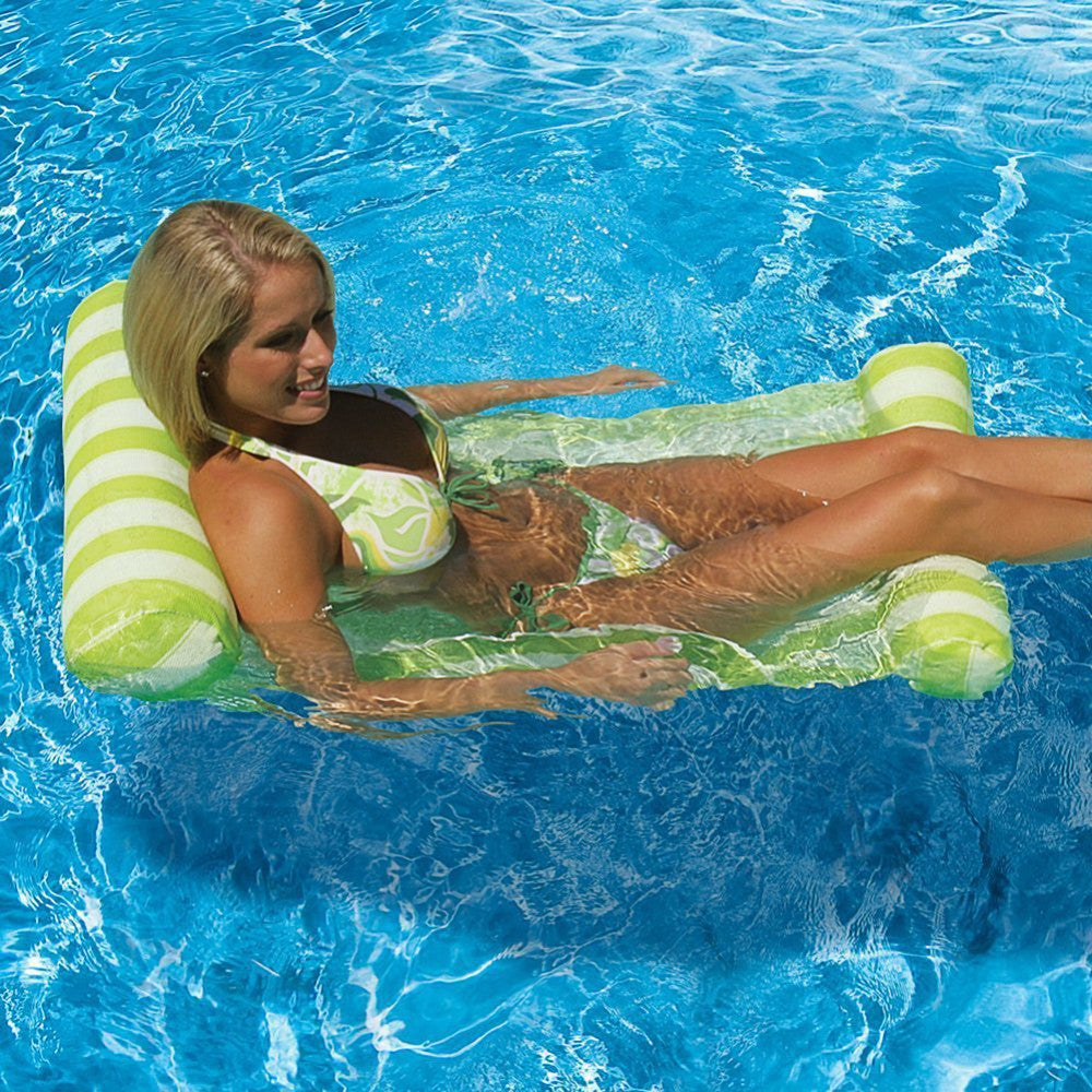1PCS New Novelty Bright Color Pool Floating Chair Swimming Pool Seats  Amazing Floating Pool Bed Chair Noodle Chair Wholesale