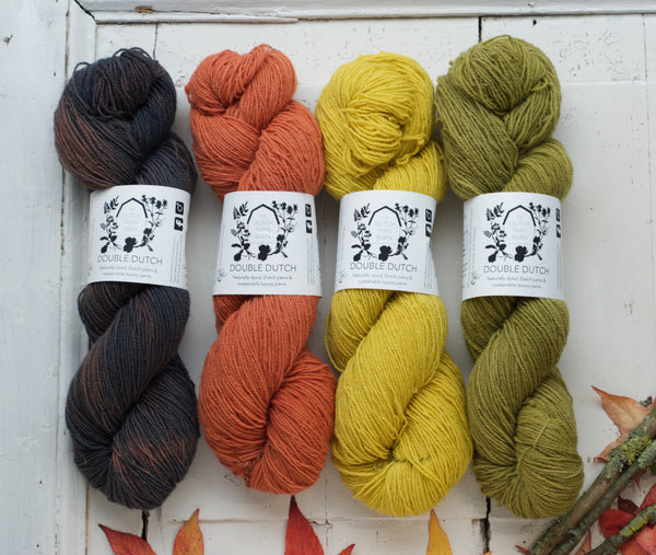 Double Dutch fingering | small farm yarn sustainable wool