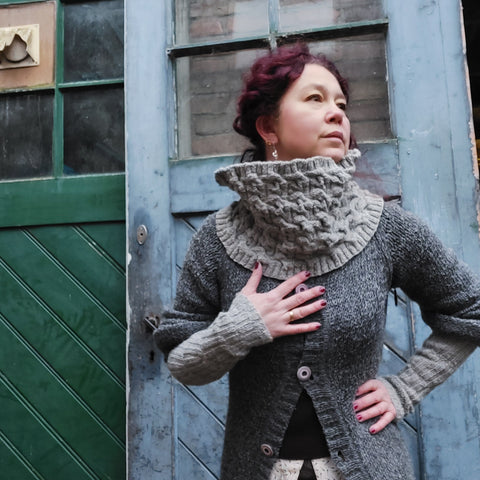 "December Yarn Club: Project Stormvloedkering ""DIJK"""