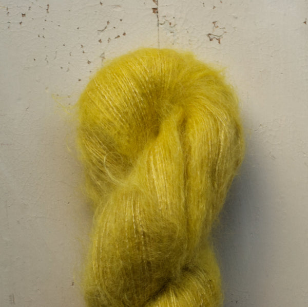 naturally dyed kidsilk yarn