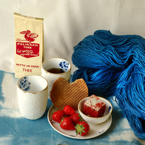 DUTCH DELFT BLUE Yarn & Tea CLUB