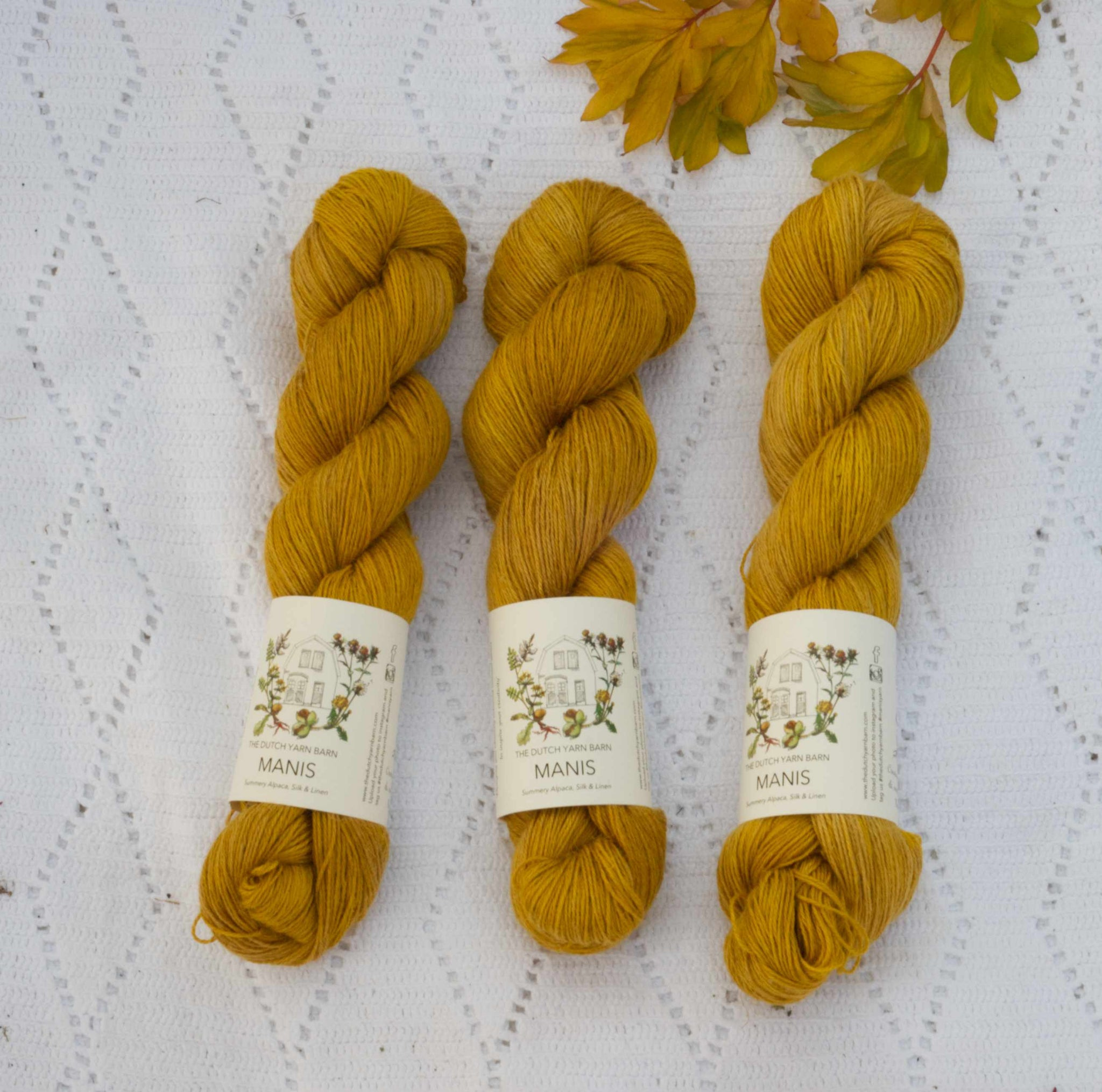 Manis - summery yarn with alpaca, silk and linen