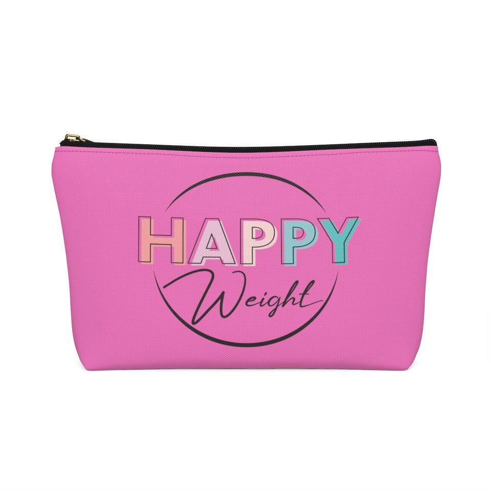 Happy Weight Defined Accessory Pouch with T-Bottom