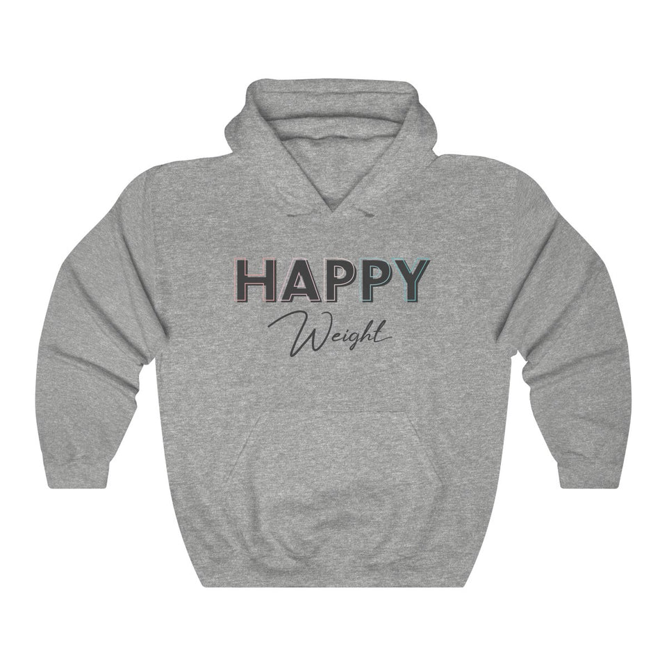 Happy Weight Unisex Heavy Blend™ Hooded Sweatshirt