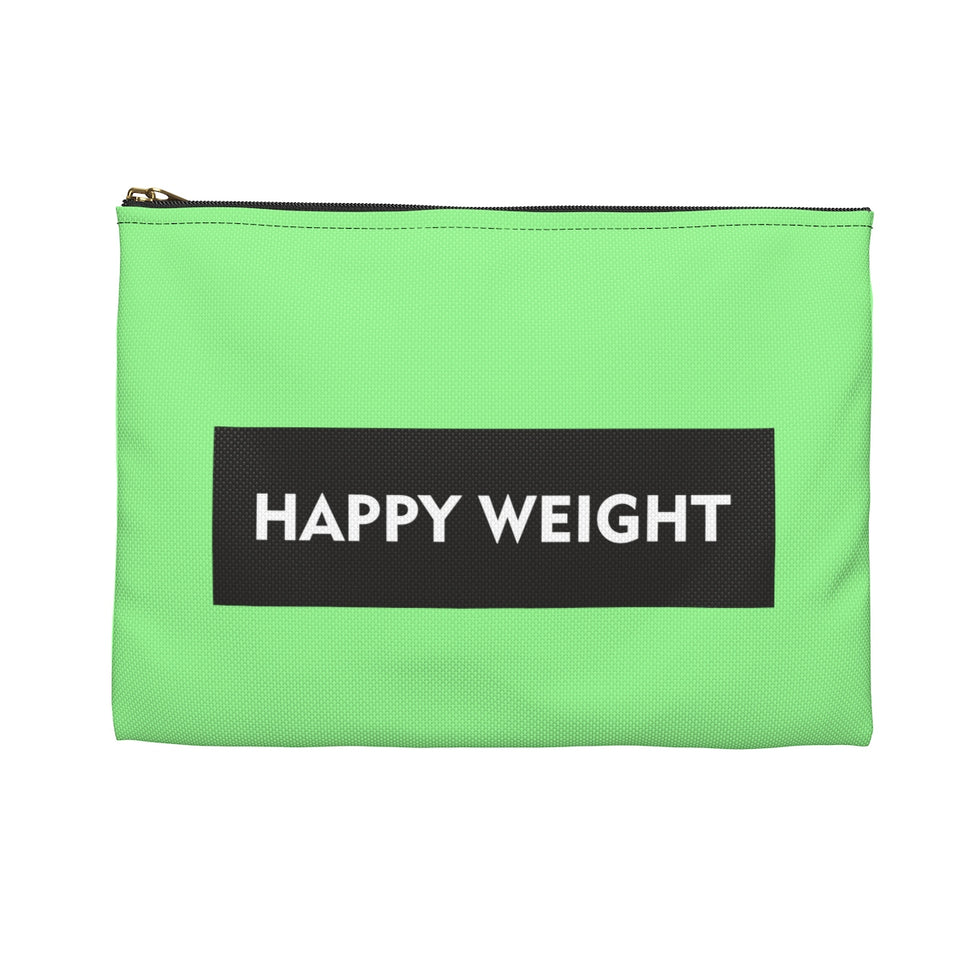 This is my Happy Weight Accessory Pouch