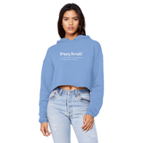 Happy Weight Defined Unisex Cropped Raw Edge Boyfriend Hoodie