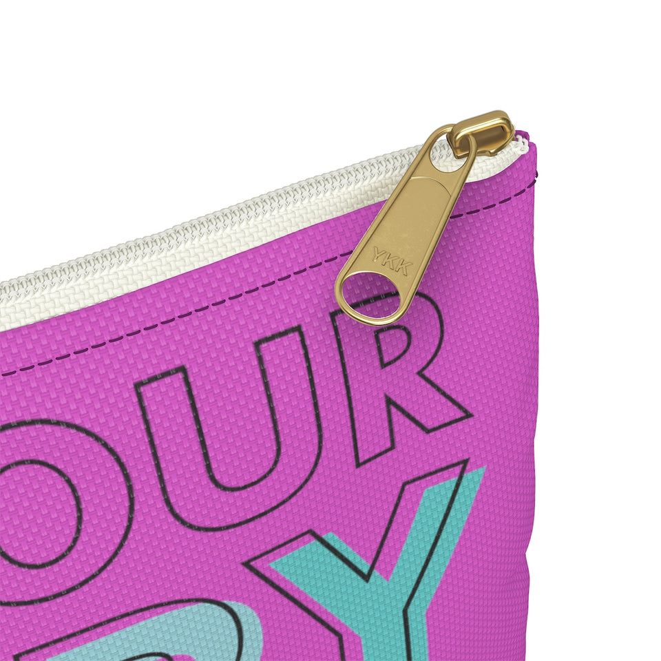 Find Your Happy Weight Accessory Pouch
