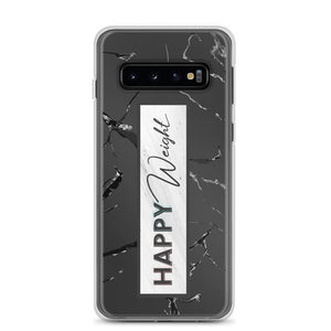 Happy Weight Marble Samsung Case