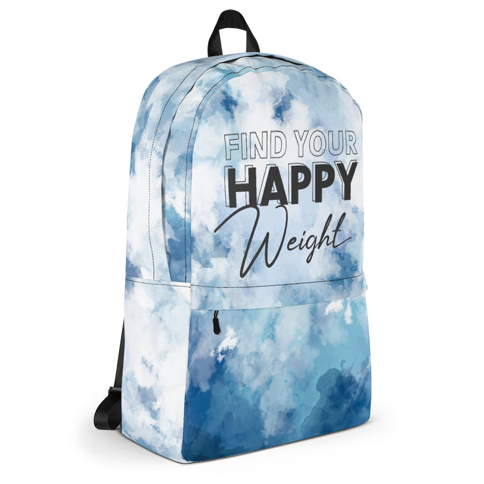 Find Your Happy Weight Backpack