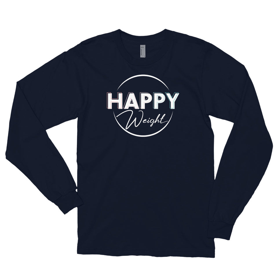 Happy Weight Logo Long Sleeve T-Shirt