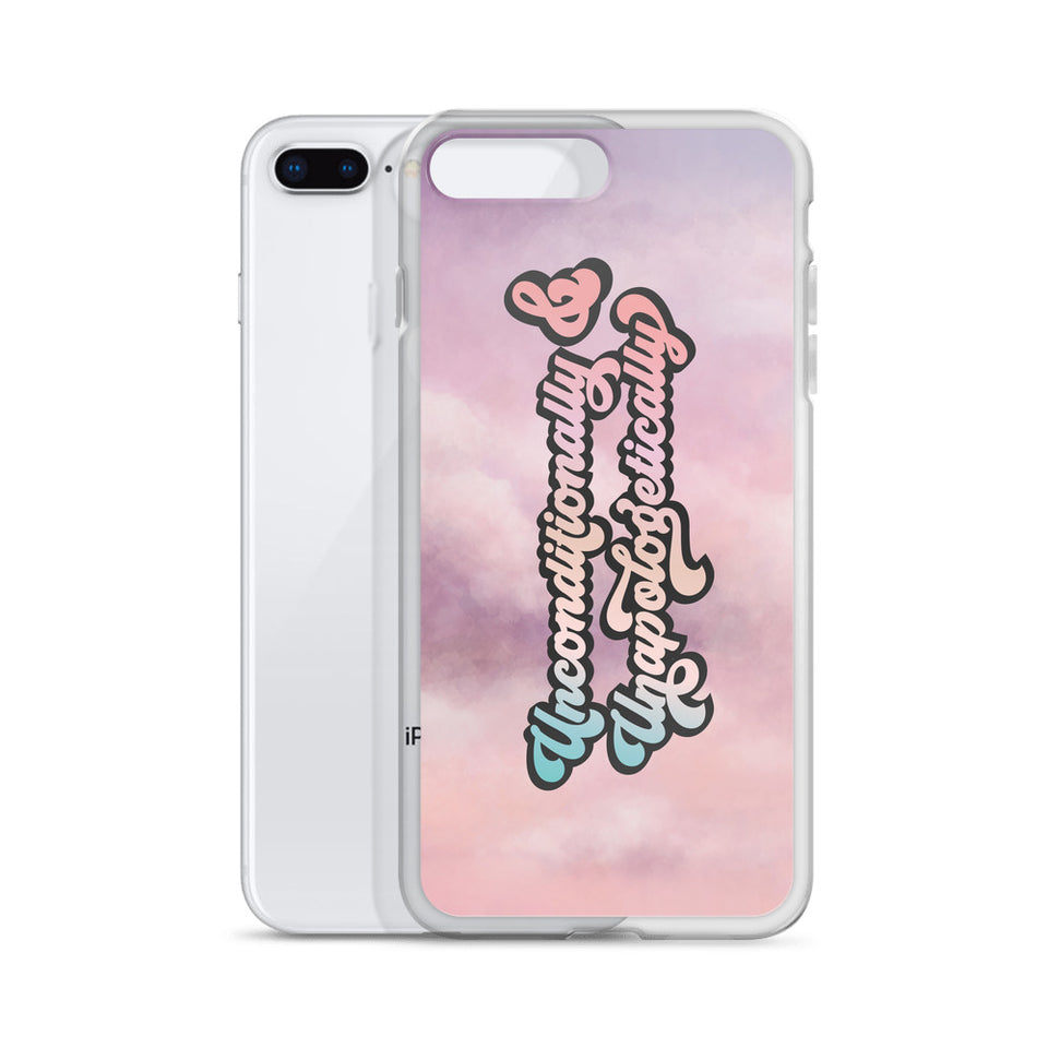 Unconditionally & Unapologetically Clouds iPhone Case