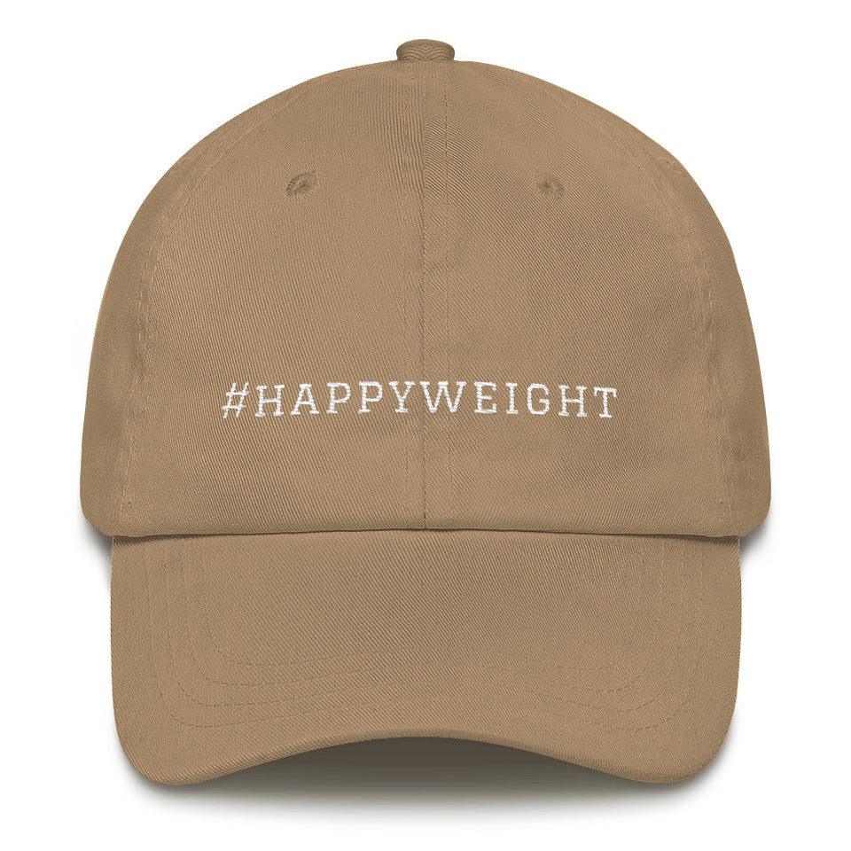 #happyweight Baseball Hat