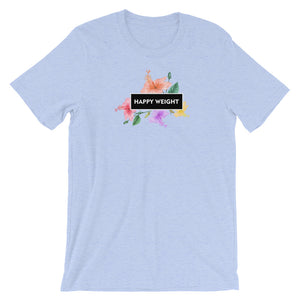Happy Weight Hibiscus Unisex T-Shirt