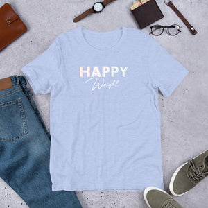 Happy Weight Short-Sleeve Unisex T-Shirt