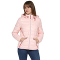 Tom Tailor Quilted Jacket with Hoodie for Women