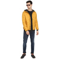 Tom Tailor Men's Quilted Puffer Jacket with Hoodie