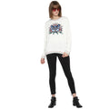 Tom Tailor Round Neck Sweatshirt with Patchwork for Women