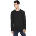 Tom Tailor Men's Solid Grey Pullover Sweater