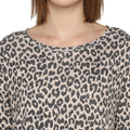Tom Tailor Casual Sweater with Leopard Print Jumper for Women