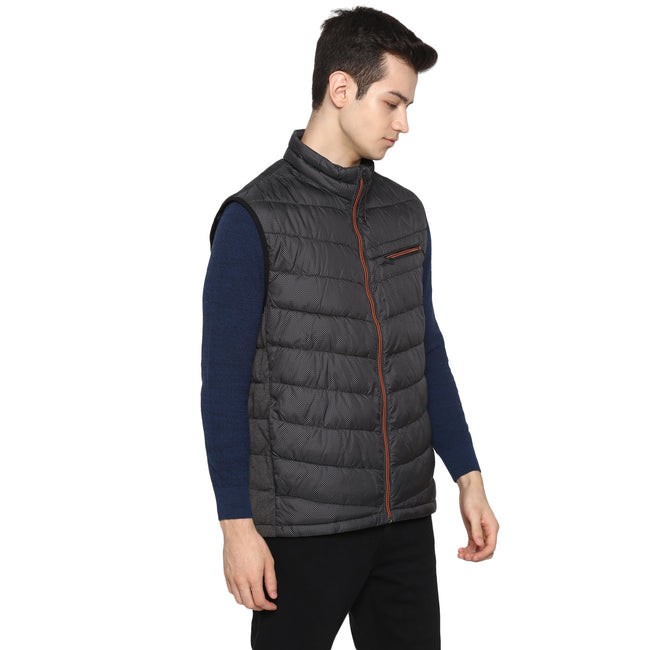 Tom Tailor Men's Sleeveless Jacket Solid Puffer Jacket