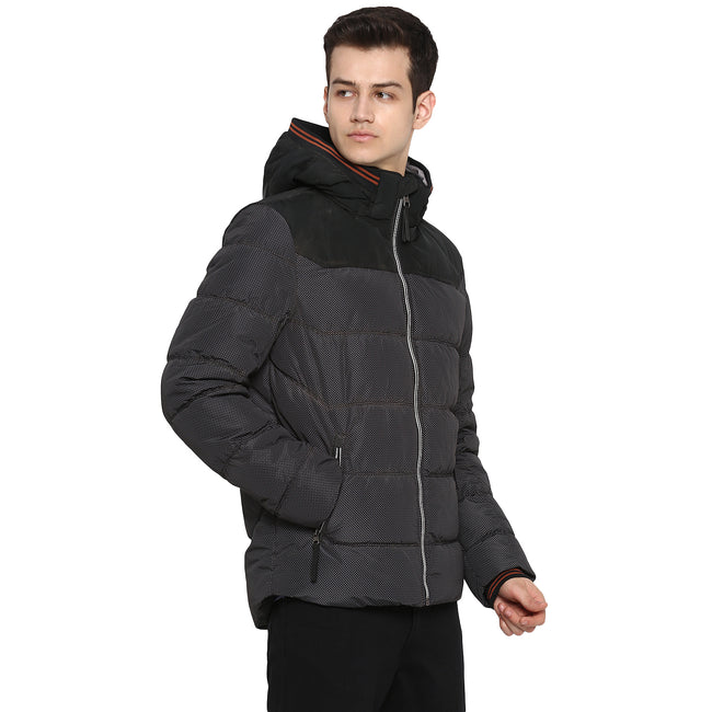 Tom Tailor Puffer Jacket with Hoodie for Men