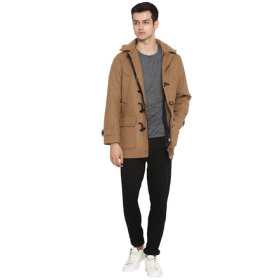 Tom Tailor Winter Overcoat Long Blazer for Men (Brown)