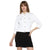 Tom Tailor Plain Cotton Jacket for Women (White)