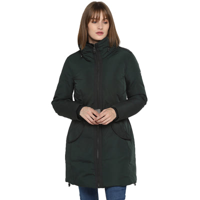 Tom Tailor Parka Jacket with Detachable Belt Waist for Women