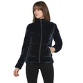 Tom Tailor Women's Velvet Puffer Jacket