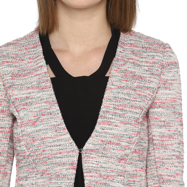 Tom Tailor Formal Slim Fit Blazer for Women (Whisper White)