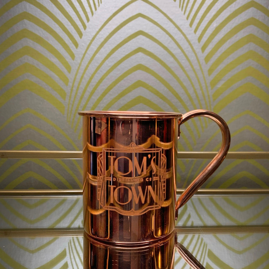 Copper Moscow Mule Mug - Curbside Pickup Only.