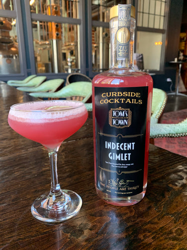 Curbside Cocktails-to-Go: Indecent Gimlet - CURBSIDE PICKUP ONLY