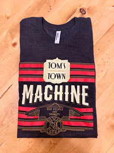 Machine T-shirt (dark gray)