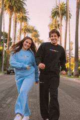 David Dobrik: Beverly 2.0 Blue Sweatpants