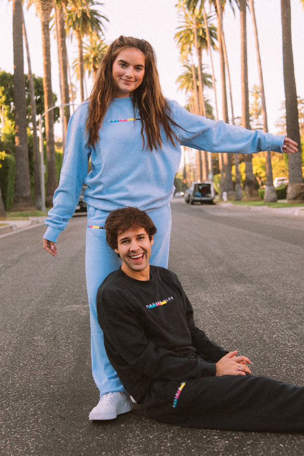 David Dobrik: Beverly 2.0 Black Sweatpants