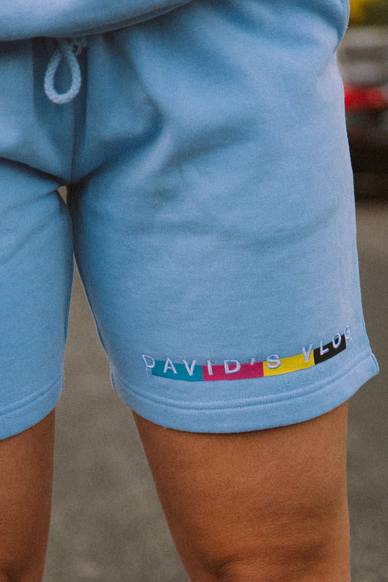 David Dobrik: Beverly 2.0 Blue Shorts