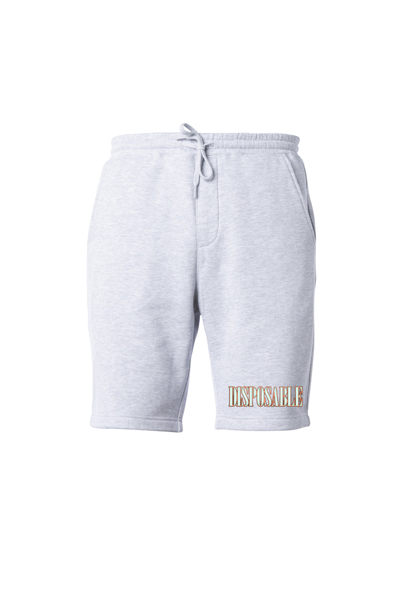 David Dobrik Gray Disposable Shorts