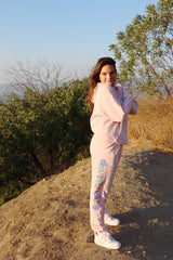 David Dobrik Pink Sunset Sweatpants