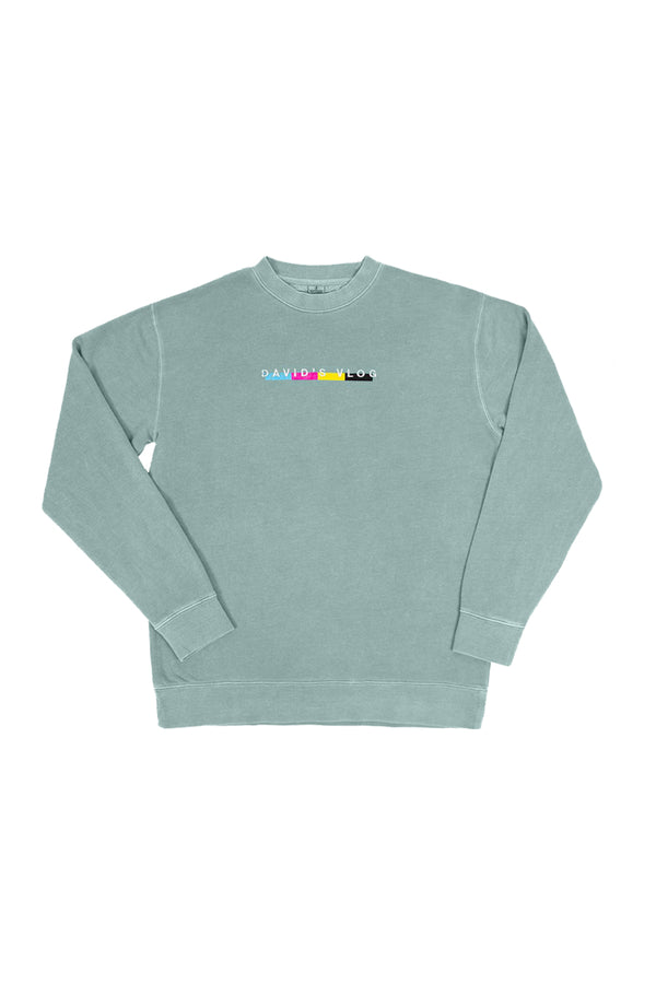 David Dobrik Beverly Mint Crewneck Sweater