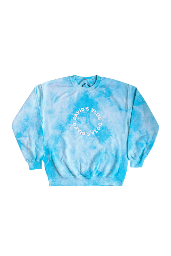 David Dobrik Blue Cloud Crewneck