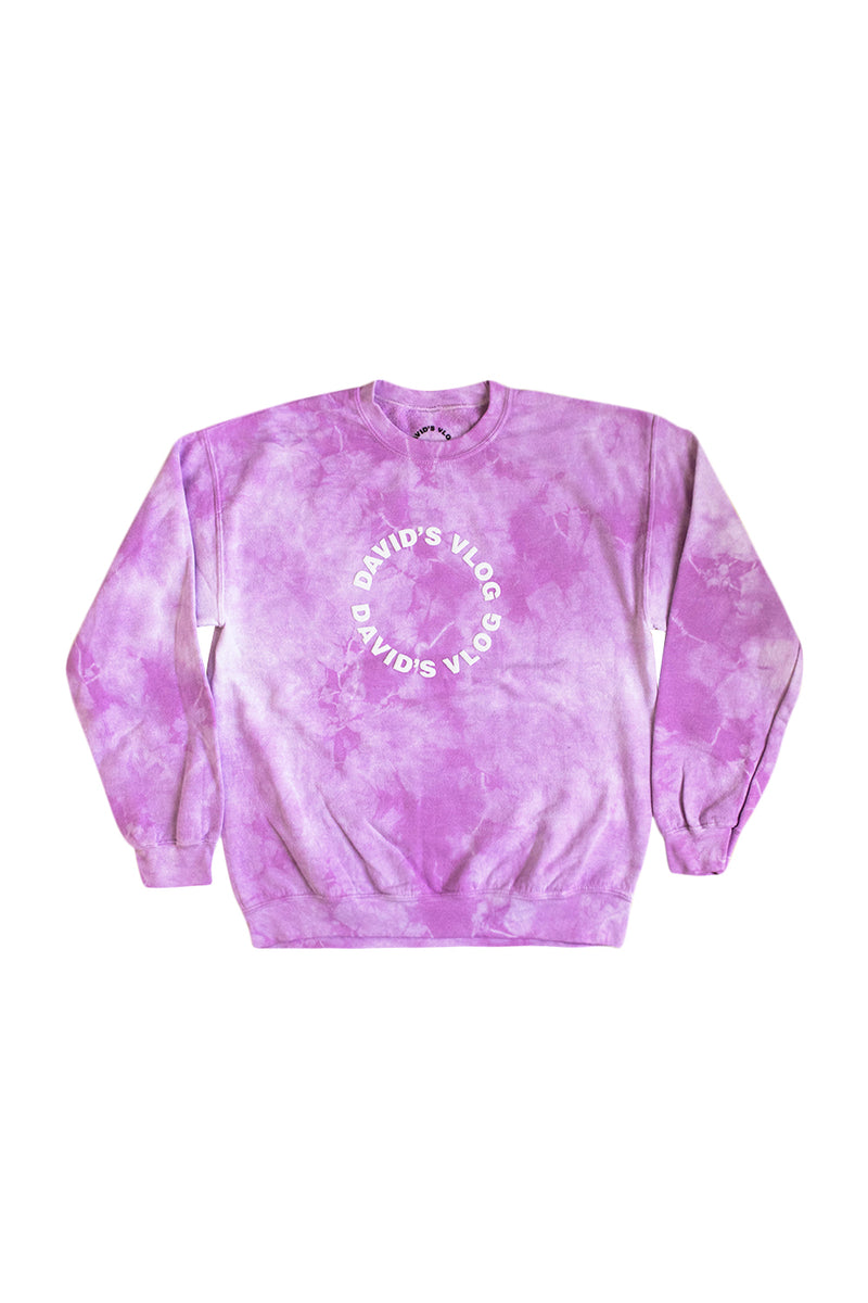 David Dobrik Purple Cloud Crewneck